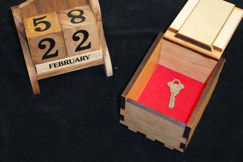 Secret Lock Box II & Calendar Escape Room Synergy Set   Boxes, Locks and Calendar