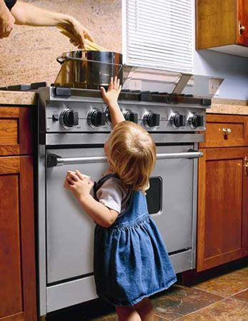 Keep your baby from learning the hot stove lesson the hard way!