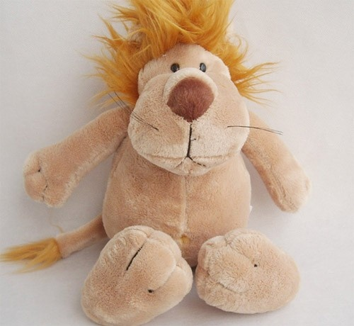 Plush Toys New Lion Small Cute Toy