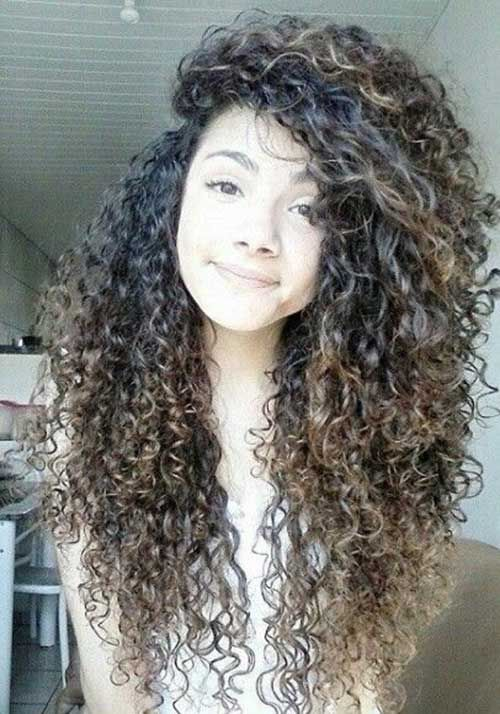 So pretty. My hair isn't this thick though.