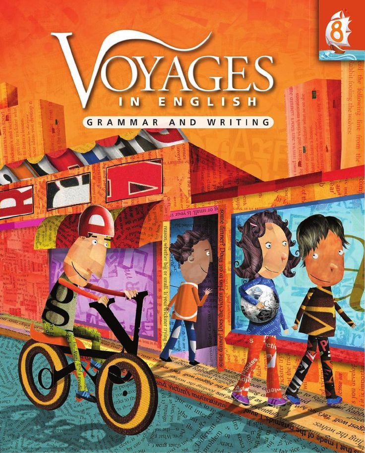 Voyages in English textbooks help students in grades 3 to 8 acquire the fundamentals of writing and grammar in a logical and consistent fashion. Strong language skills enable them to become effective writers, to perform well on standardized tests, and to become successful communicators.