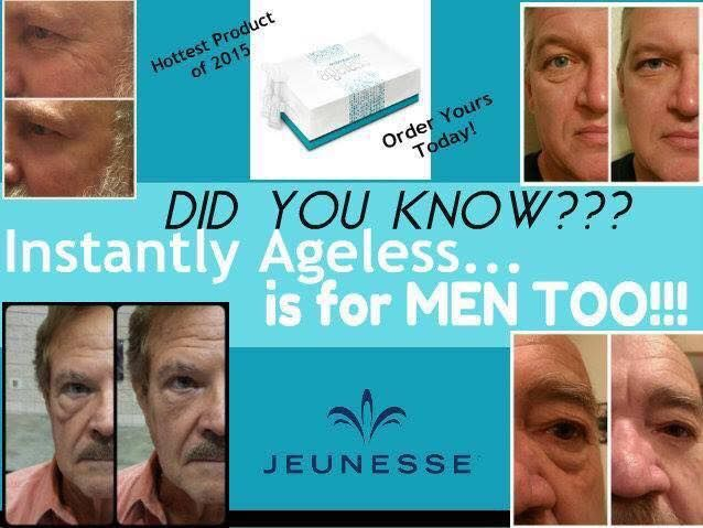 Instantly ageless serum