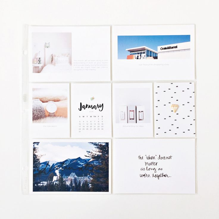 2016 project life album - {January} by LilyandTwig at @studio_calico