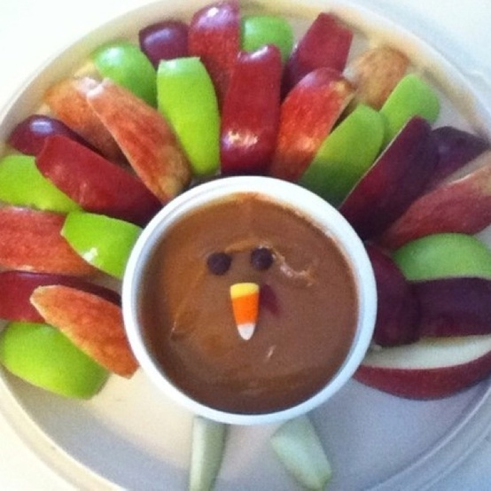 Cute Ideas / Good idea for healthy Thanksgiving appetizer