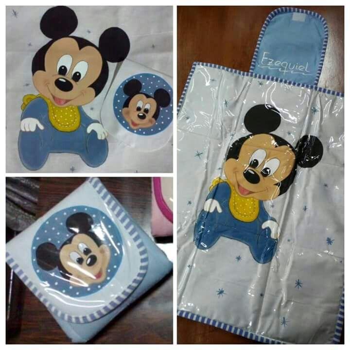 Cambiador Mickey bebé