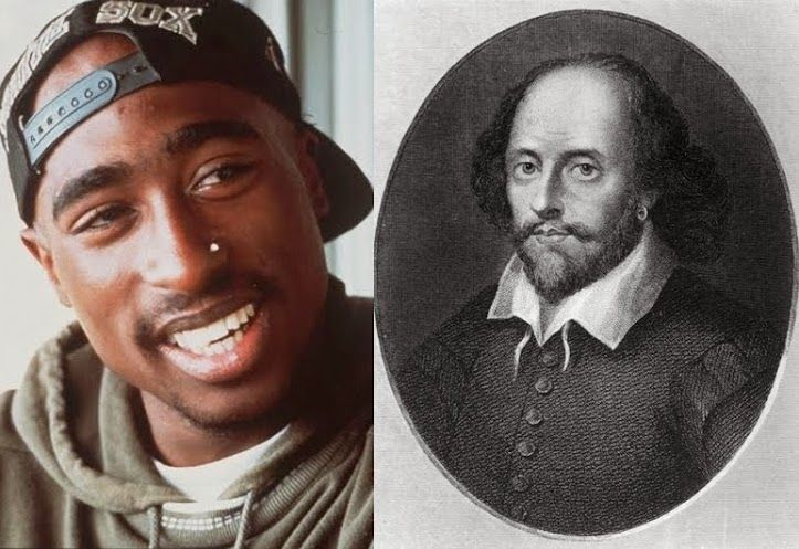 Who Said It: Tupac Or Shakespeare?                      Tupac, who celebrates his 43rd birthday today, used to say his writing was influenced by the famous works of Shakespeare. Can you guess which writer said what?