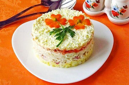 Салаты - рецепты с фото на Вкусляндии: дешевые салаты на скорую руку, салаты новинки, рецепты салатов на день рождения с фото пошагово