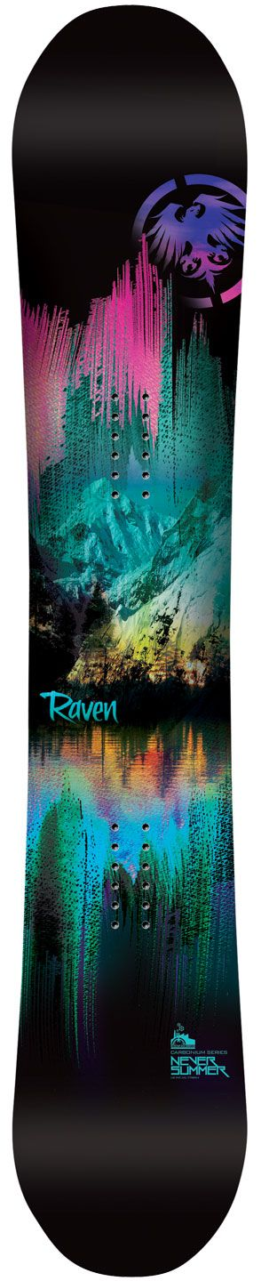 #LL @lufelive #snowboarding #snowboard Raven | Never Summer Industries Sizes: 146, 149, 151, 154, 157 Prices: USD $499.99