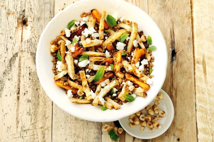 Groenten, peulvruchten, noten: dit gerecht geeft je het gevoel dat je goed bezig bent! - Recept - Allerhande
