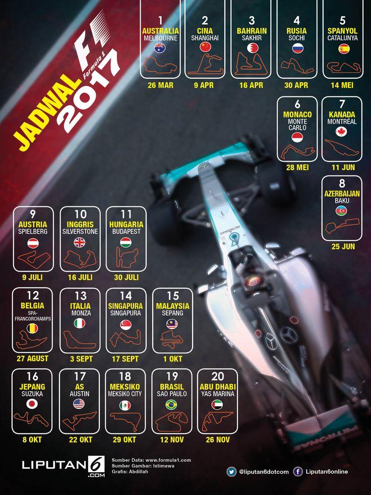 Jadwal F1_infografis