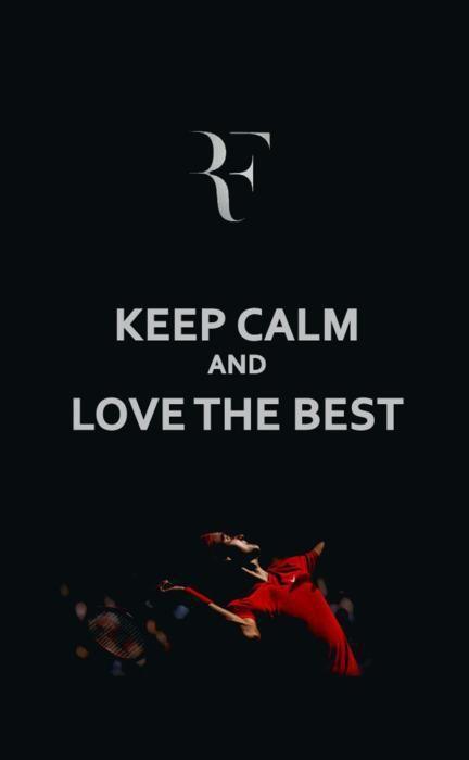 <3 Roger Federer 4 EVER number 1 FOR EVER!!!!!!