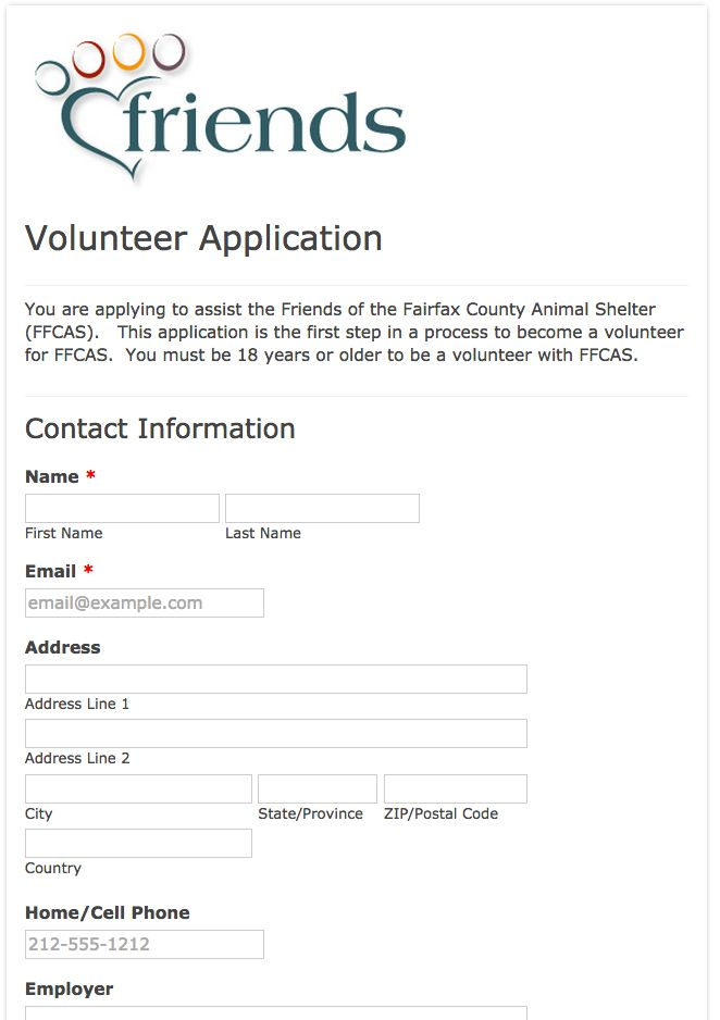 Best Membership Form Examples Images On   Website Art