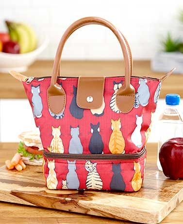 Dual-Compartment Insulated Lunch Totes $8