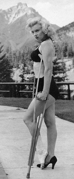 Marilyn única (Foto de John Vachon, 1953)