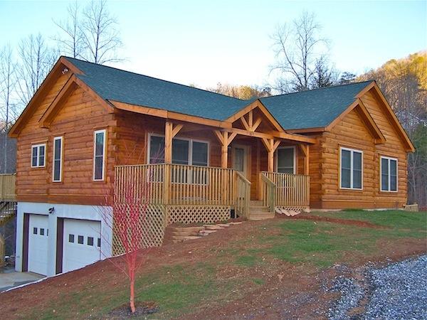 Blue Ridge Log Cabins Columbus Series