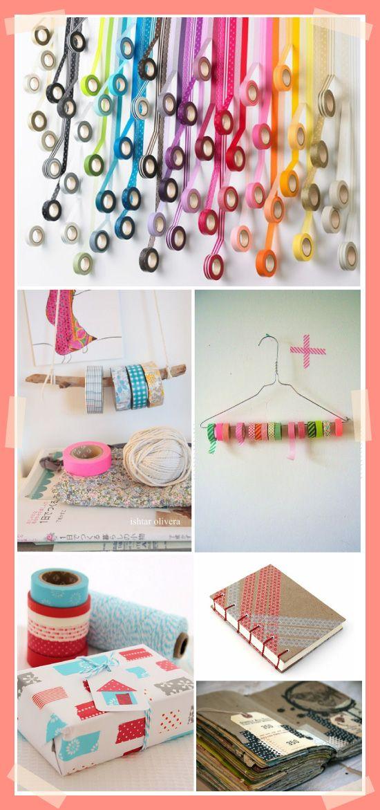 Idées de créations DIY avec du masking tape