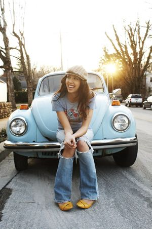 "Francesca Battistelli~ This pic is so cute<3 It's from her album ""Paper Heart"".What's your favortie song/album?:o"