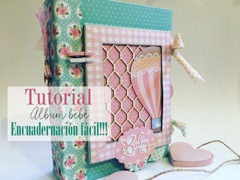 Tutorial álbum bebé encuadernación happy planner - YouTube