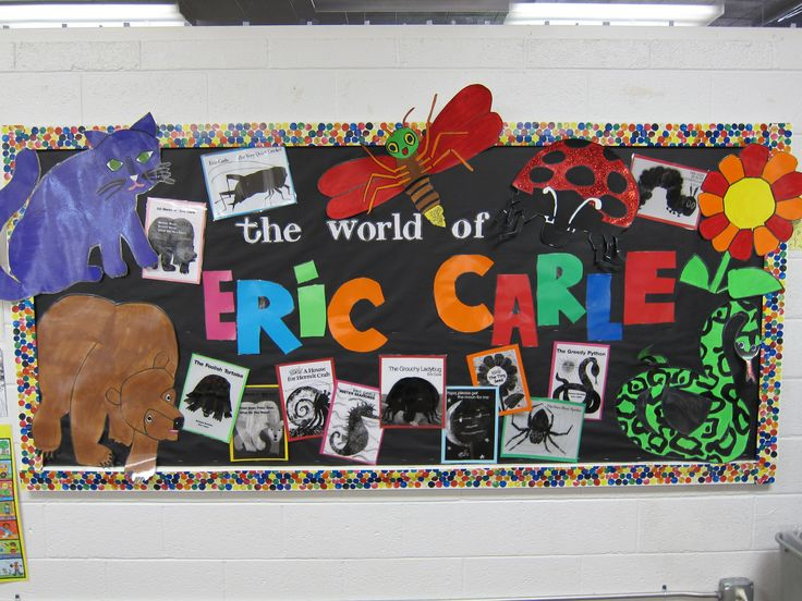 Eric Carle Theme and Author Study Activities for Preschool ...