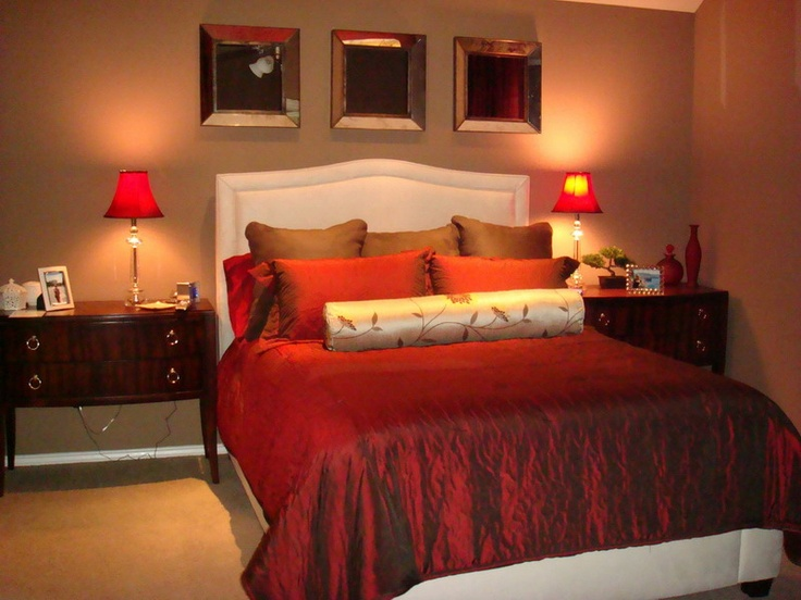 romantic red master bedroom ideas. Simple Ideas Luxury Red Theme In Modern Bedroom Decorating Ideas Picture To Romantic Master G