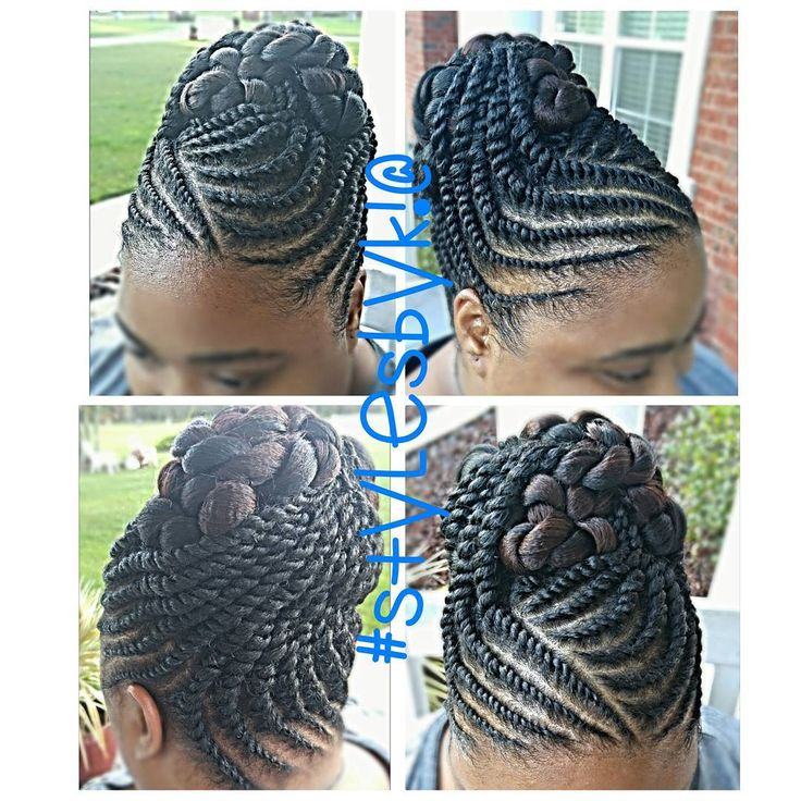 20 hottest flat twist hairstyles for this year flat twist updo see this instagram photo by kiabia87 109 likes pmusecretfo Choice Image
