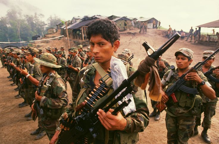 """REAGAN ADMINISTRATION """"CAVALIERLY"""" LEAKED NSA SIGNALS INTELLIGENCE — APPARENTLY WITHOUT INFORMING THE AGENCY: The battle between Nicaragua's socialist Sandinista government and the U.S.-backed Contra brigades trying to overthrow it. Contras had been directly financed by the U.S. starting in 1981. Contra Troops Training in Honduras (Photo by © Bill Gentile/CORBIS/Corbis via Getty Images)"""