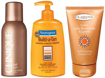 How to find the right self tanner- neutrogena build a tan sunless lotion