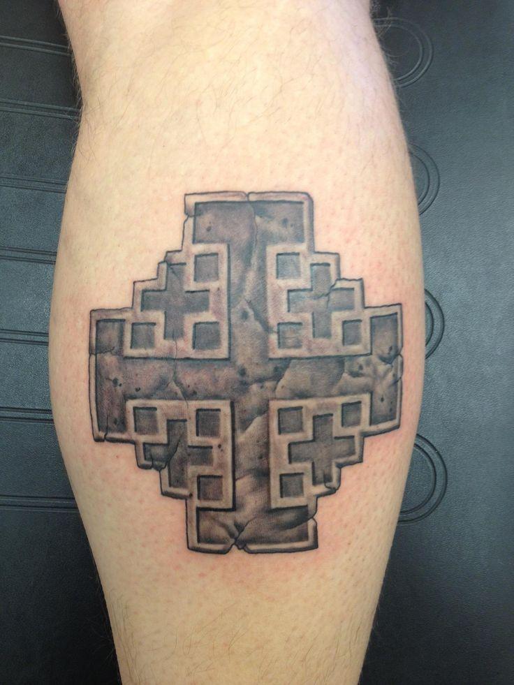 15++ Astonishing Jerusalem cross tattoo designs image ideas