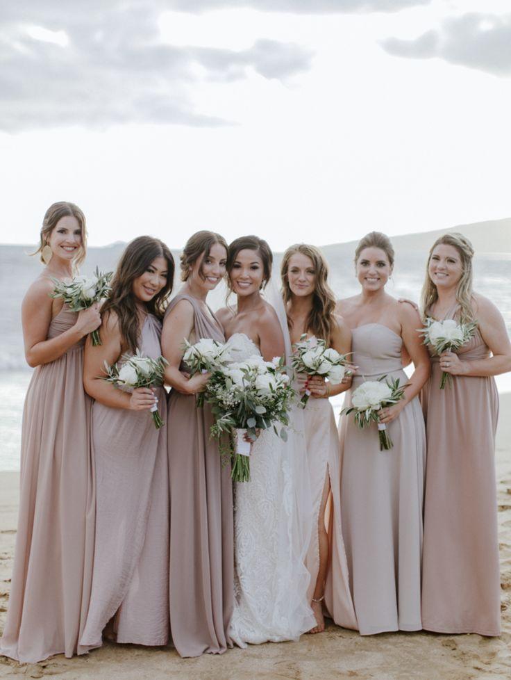 Blush Bridesmaids Dresses Bridesmaid Dresses Bridesmaids Bridesmaids Ha California Wedding Photographers Neutral Bridesmaid Dresses Taupe Bridesmaid Dresses