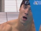 The picture for this video clip is classic. What happened? Highlights: Phelps Beats Lochte For Gold In 200m IM - Swimming Video | NBC Olympics