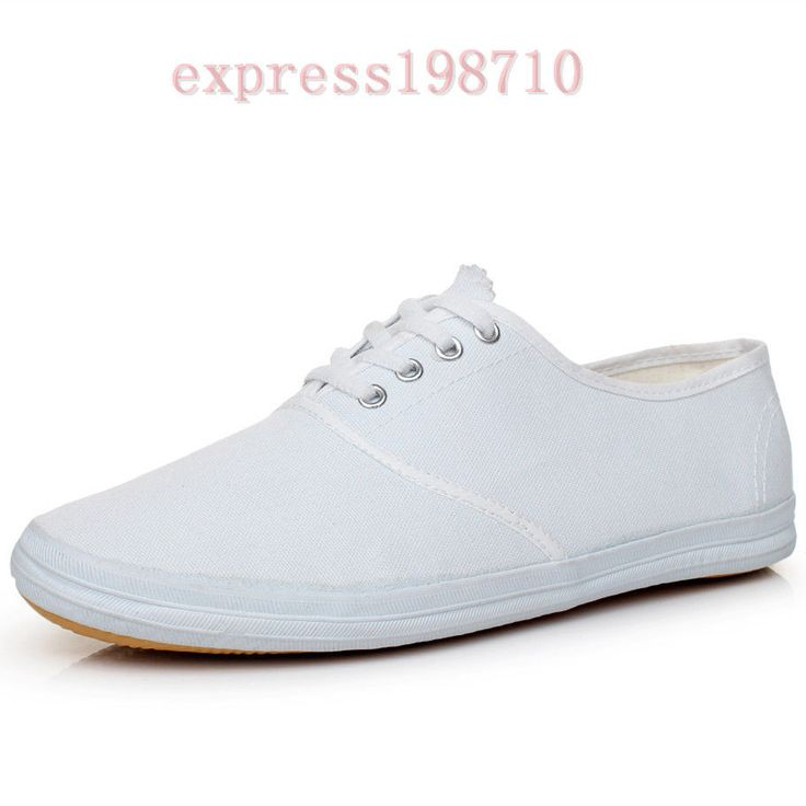 Autumn Womens Mens Plimsoll Lace Up Sport Canvas Flat Heel Pumps Casual Sneakers