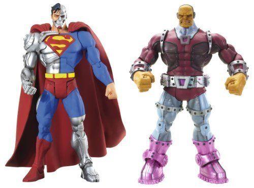 Cyborg Superman & Mongul - Super Enemies - DC Universe Infinite Heroes 6 Inch Figure Twin Pack NEW b @ niftywarehouse.com