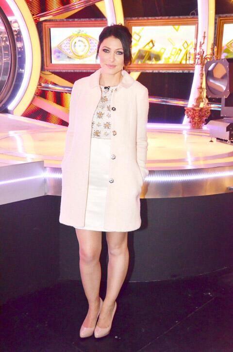 Emma Willis wears Topshop