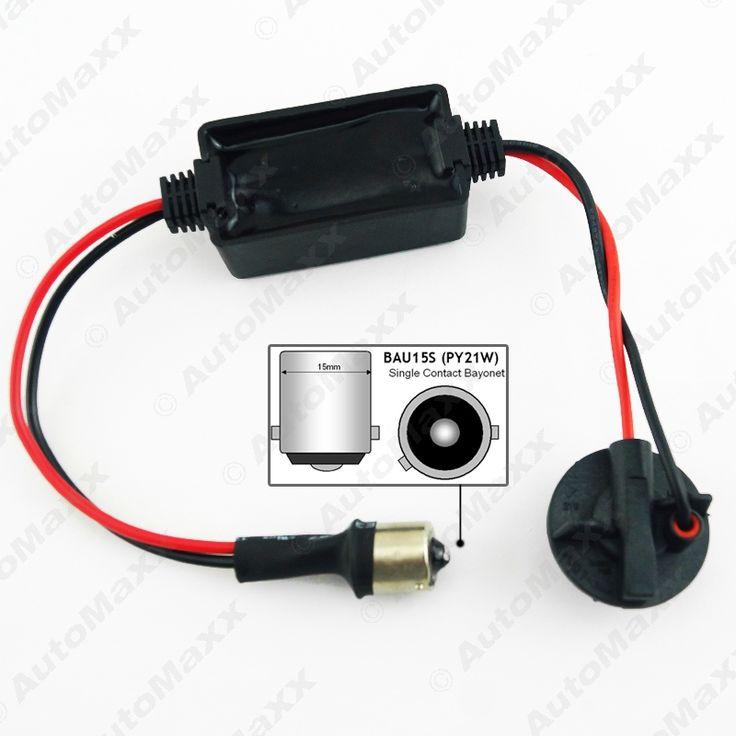 20Pcs Car BAU15S No Error Load Resistor No Flickering Decoder for LED Light Into a canbus bulb #J-3927