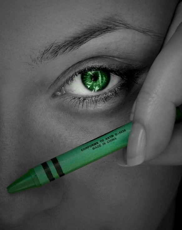 "If one is ""bitten by the green-eyed monster,"" it's thought they are consumed with jealousy. With envy being one of the deadly sins, there's been a lot written about it since the beginning of time. #green"