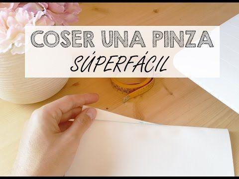 CÓMO COSER UNA PINZA SÚPERFÁCIL / VIDEOTUTORIAL - Skarlett Costura