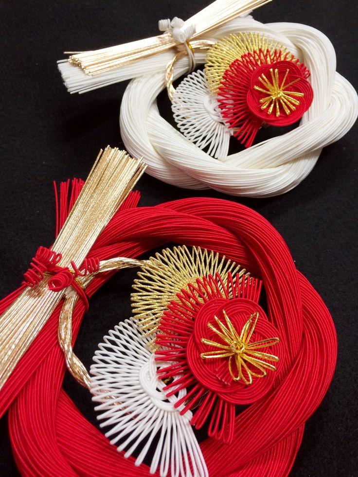 New Year ornaments 正月飾り・・・松竹梅 ㈲ながさわ結納店 #japan #mizuhiki #wedding #yuino#fukuoka#hakata
