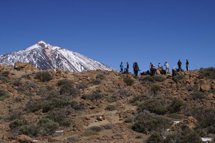 Teide Caldera, 2800 m