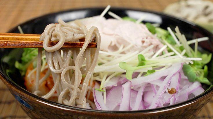 Cold Pork Soba Noodles 豚しゃぶ冷やしそば