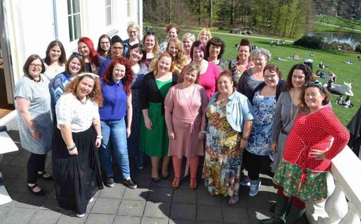 groepsfoto, Curvy High Tea, Eva van der Gucht, stadsvilla Arnhem