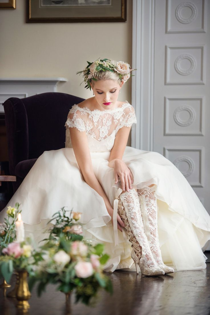 32 best C L A S S I C | Wedding Boot Collection by House of Elliot ...