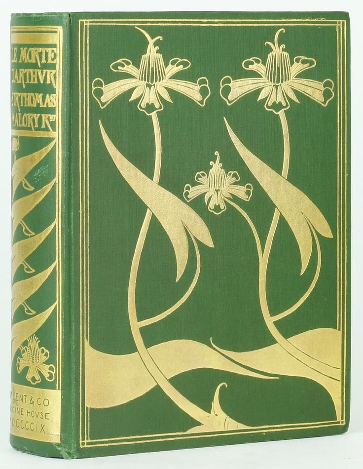 """LE MORTE D'ARTHUR The Birth, Life and Acts of King Arthur of his Noble Knights of the Round Table.Sir Thomas Malory. Binding design and illustrations byAubrey Beardsley. London: J M Dent & Co, 1909.""""RIGHT so at the noon came the damosel unto him with his dinner, and asked him what cheer. Truly, fair damosel, said Sir Launcelot, in my life days never so ill. Sir, she said, that me repenteth, but an ye will be ruled by me, I shall help you out of this distress, and ye shall have no shame nor…"""