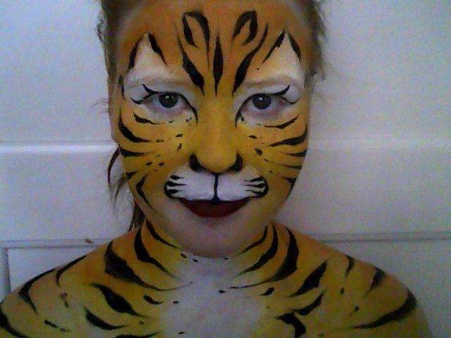 Me tiger paint<3