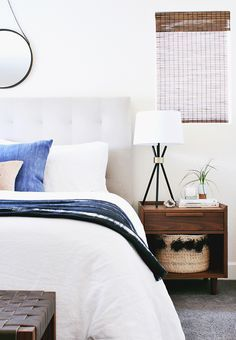 A Modern, Eclectic Bedroom Reveal - Hither & Thither