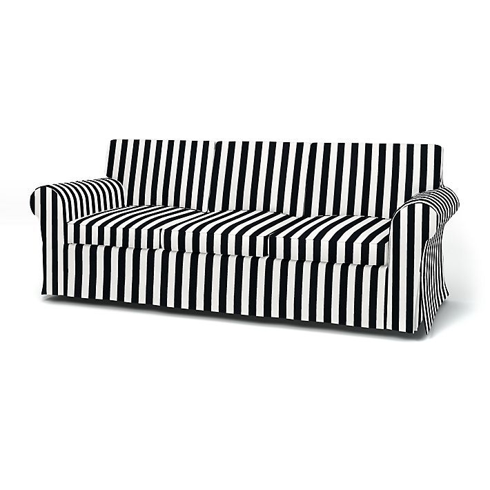 ektorp 3 seater sofa cover with piping commission 3 seater sofa rh pinterest com