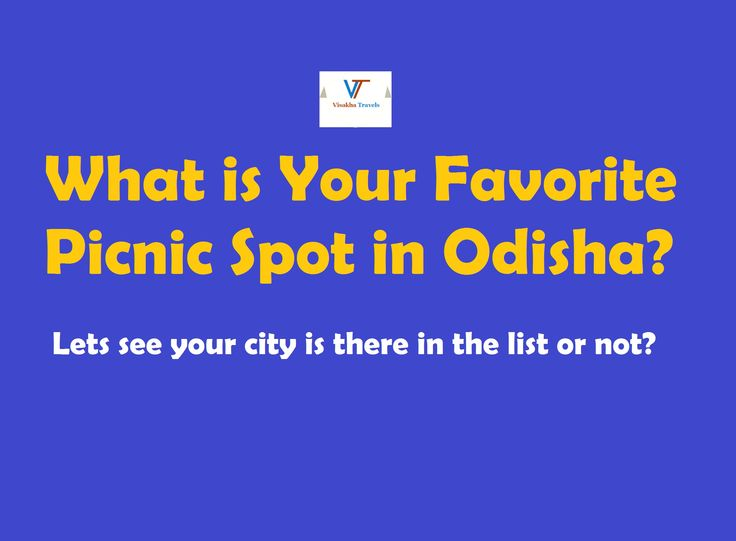 The picnic season is back. What is your favorite #picnic spot in #odisha ??