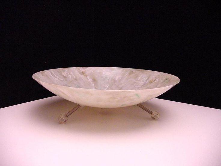 retro ufo style plastic fruit bowl
