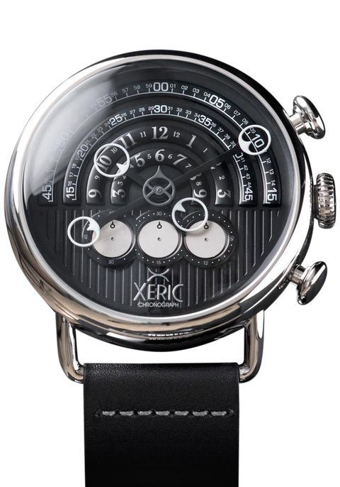 The Xeric Halograph Chrono Black/Silver Watch - The Newest Watch from Xeric Watches - best mens brand watches, buy online mens watches, sale mens watches