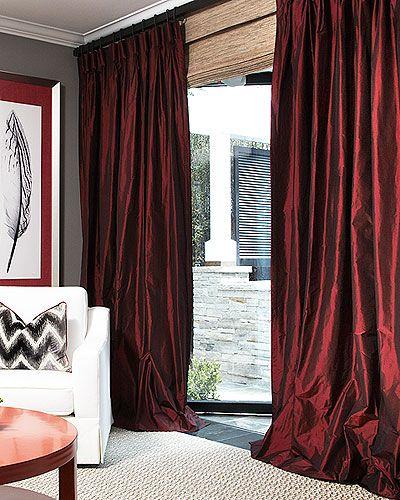 Curtains Ideas burgandy curtains : 17 Best ideas about Burgundy Curtains on Pinterest   Maroon ...