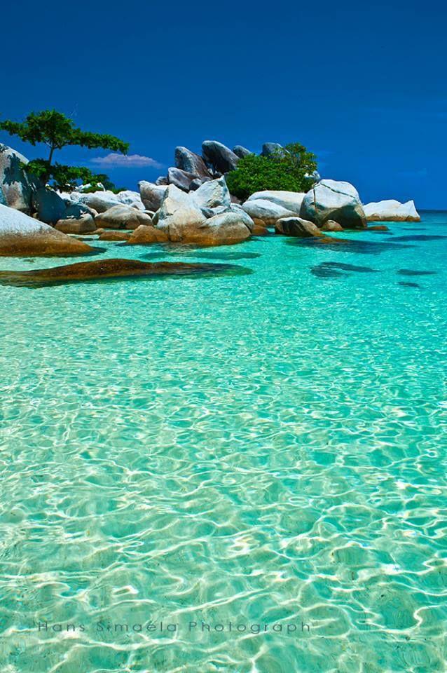 Wait me :$  Lengkuas Island, Bangka Belitung, beautiful places to visit in Indonesia.